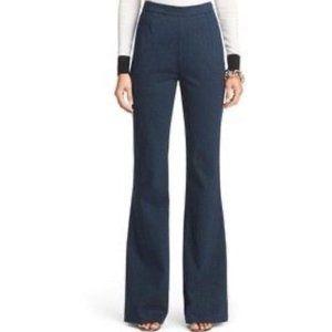 Diane Von Furstenberg JOAN Wide Leg Flare Jeans 6